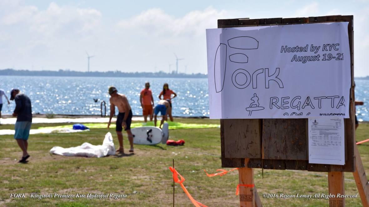 FORK foiling kiteboard regatta kingston volunteer registration