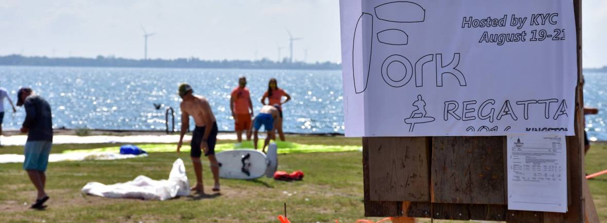 FORK foiling kiteboard regatta kingston volunteer registration